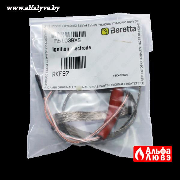 03 Электрод розжига RKF97 (R103307, 4051851, R102266) на котел Beretta Novella (упаковка)