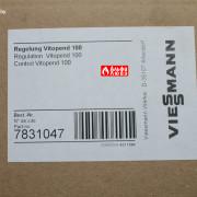 Шильда платы управления 7831047 для котлов Viessmann Vitopend WH1B, AH1B, WHKB без дисплея с двумя ручками