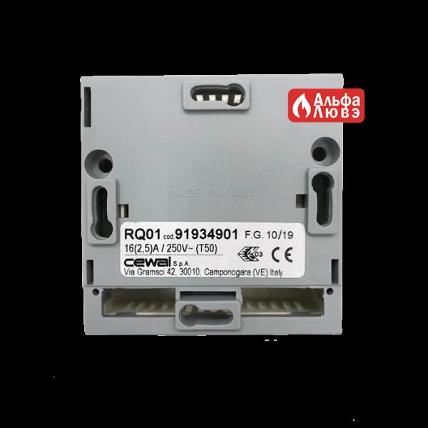 Проводной комнатный терморегулятор, датчик температуры CEWAL RQ01, 91934901